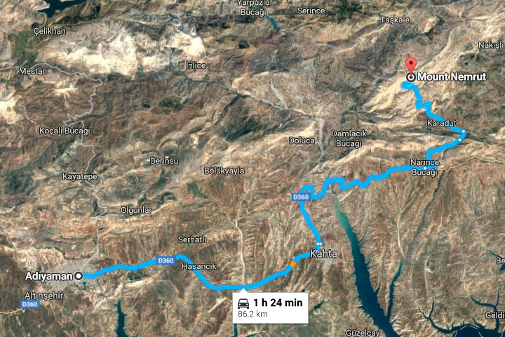 How To Get To Mount Nemrut