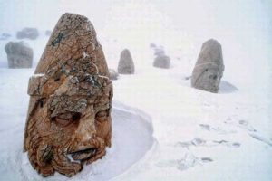 Mount Nemrut in Winter