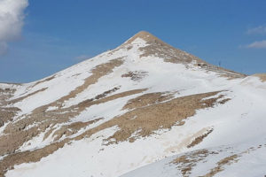 Nemrut Peak with Snow