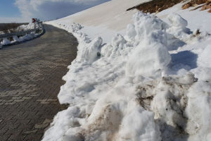 Nemrut Roads Snow Melted