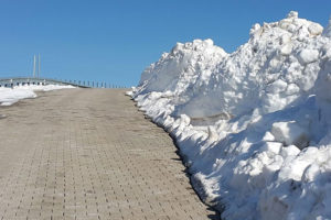 Nemrut Roads Snow Melting