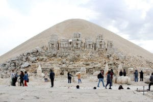 Nemrut Busy Visits