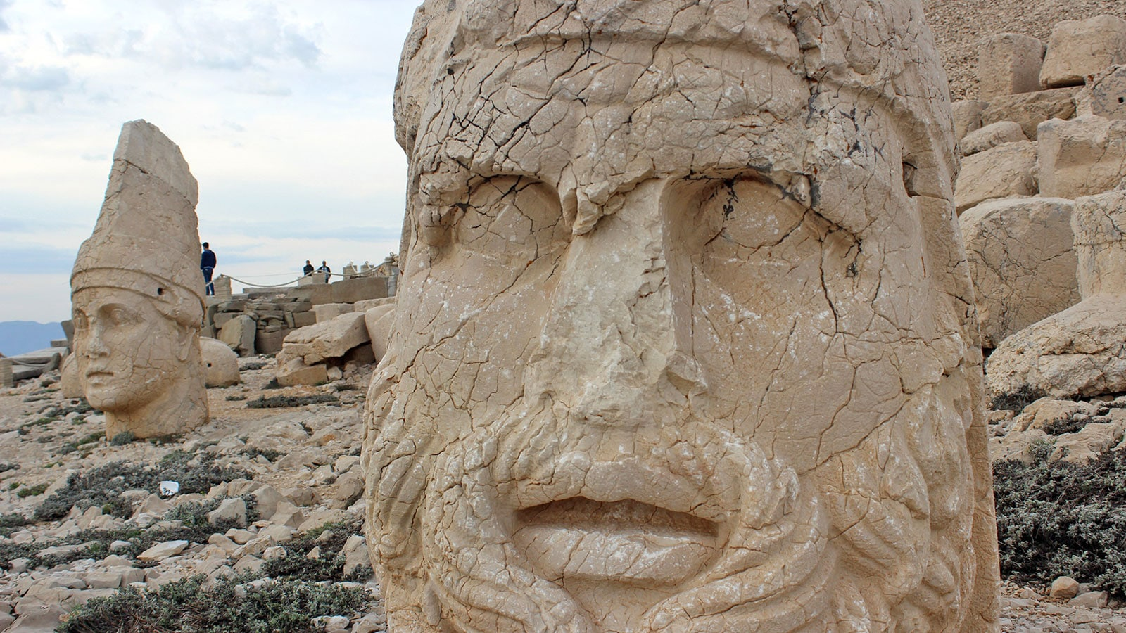 New Welcoming Center Built Guests Opened Nemrut